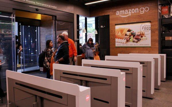Amazon GO決済ゲート
