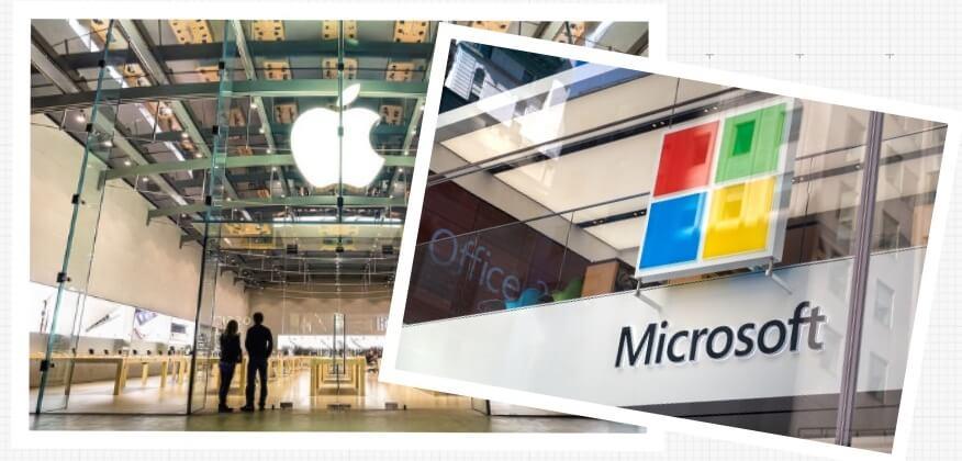 世界を席巻するGAFA+マイクロソフト